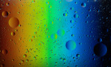 Olive Oil in Water (Rainbow)