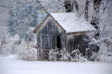 Small Barn in Winter