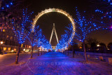London Eye in Winter 2