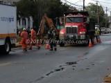 10/07/2013 Gas Leak Whitman MA