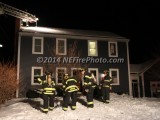 02/14/2014 Chimney Fire Whitman MA