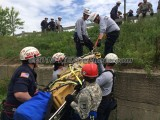 05/21/2015 Low Angle Rescue Training Bridgewater MA