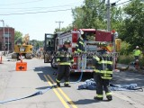 08/17/2015 Gas Main Break Whitman MA
