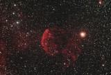The 'Jellyfish Nebula', IC 443 in Gemini