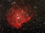 The 'Monkey Head Nebula', NGC 2174 in Gemini