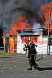 Dudley MA - Garage fire; 175 West Main St. - August 5, 2013