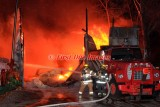 Sturbridge MA - 4 Alarm Structure fire; 126 River Rd. - December 7, 2015
