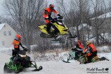 Pratique snocross Louiseville 21-12-2014