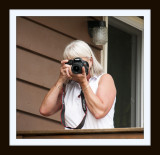 Brenda with her Camera