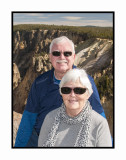 314 14 10 18 Barry & Judy at Yellowstone NP