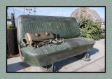 Morro Bay Classic Ford Bench Seat Sculpture