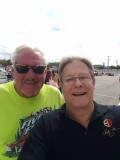 Doug Deal and I at the All American 400 2016 Nashville Fairgrounds Speedway