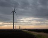 Turbines along Woodlawn Road