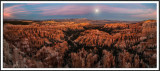 Moonrise Over Bryce Canyon