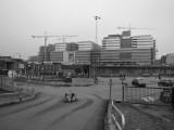Byggarbeten Hagastaden