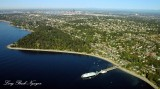 Fauntleroy Ferry dock and Lincoln Park, West Seattle