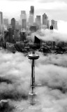 Vintage Seattle and Space Needle