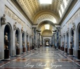 Hall of Statues, Vatican Museum, Rome, Italy 137