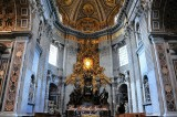Cathedra Petri and Chapel of the Blessed Sacrament, St Peter's Basilica, The Vatican, Rome 336