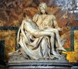 Chapel of the Pieta by Michelangelo Buonarroti 1499