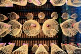 spiral incense, Thien Hau Temple, Saigon, Vietnam