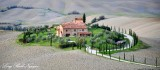 Hill Towns and landscape of Tuscany, Italy