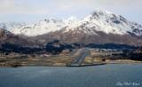 Runway 25, Kodiak Airport, Barometer Mtn, Kodiak Island, AK