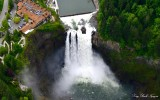 Snoqualmie Falls, Salish Lodge, PSE powerhouse, Observation Point, Snoqualmie, WA