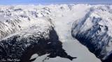 Grewingk Glacier, Portlock glacier,Kenai Fjords National Park, Alaska