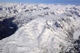 Portlock glacier, Dixon glacier, Kenai Fjords National Park, Alaska