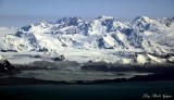 Grand Plateau Glacier, Mt Watson, Mt Root,  Glacier Bay National Monument,  Alaska