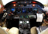 Citation X cockpit