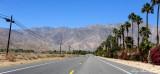 Canyon Drive, Borrego Springs, San Ysidro Mountains, California