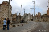 Asking for direction, Oradour-sur-Glane, France