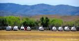 Glider trailers, Warner Springs Airport, California