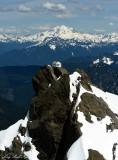 Three Fingers Hut ,Three Fingers Mountains, Glacier Peak, Cascade Mountains, Washington