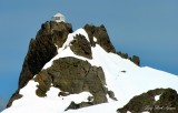 Three Fingers Hut, Three Fingers  Mountains, Glacier Peak, Cascade Mountains, Washington