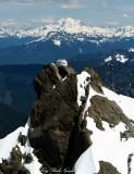 Three Fingers  Hut, Three Fingers Mountains, Glacier Peak, Cascade Mountains, Washington