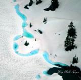 Twin Lakes, Columbia Peak, Cascade Mountians, Washington