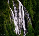 Bridal Veil Falls, Bridal Veil Creek, Lake Serene, Mt Index, Washington