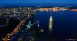 Seattle, Elliott Bay, Harbor Island, West Seattle, Washington