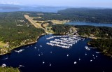 Roche Harbor Resort and Airport, San Juan Island, Washington