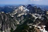 Avalanche Lake, Iceberg Lake, Overcoat Peak, Chimney Rock, Cascade Mountains, Washington