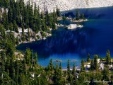 Gold Lake, Big Snow Mountain, Cascade Mountains, Washington