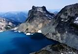 Lynch Glacier, Lynch Lake, Mount Daniel, Cascade Mountains, Washington