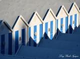 blue sheds, Cascais, Portugal