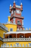 clock tower, Pena National Palace, Sintra, Portugal