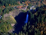 Snoqualmie Falls, Salish Lodge, Snoqualmie River, Washington