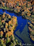 Oxbow lake Snoqualmie Washington