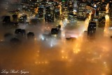 Foggy Seattle Washington